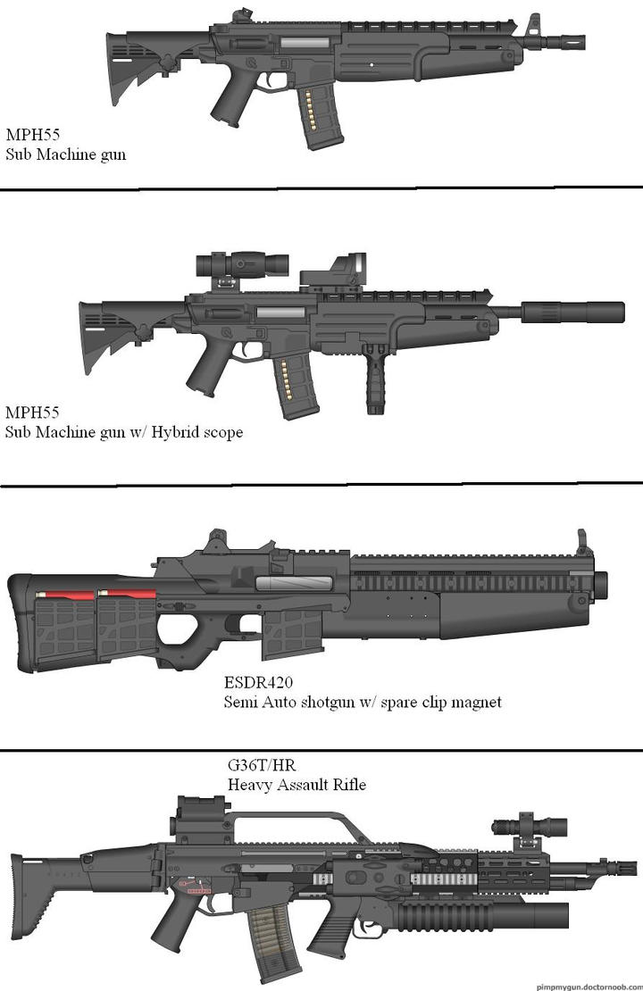 Military Weapon Variants 45 by Marksman104