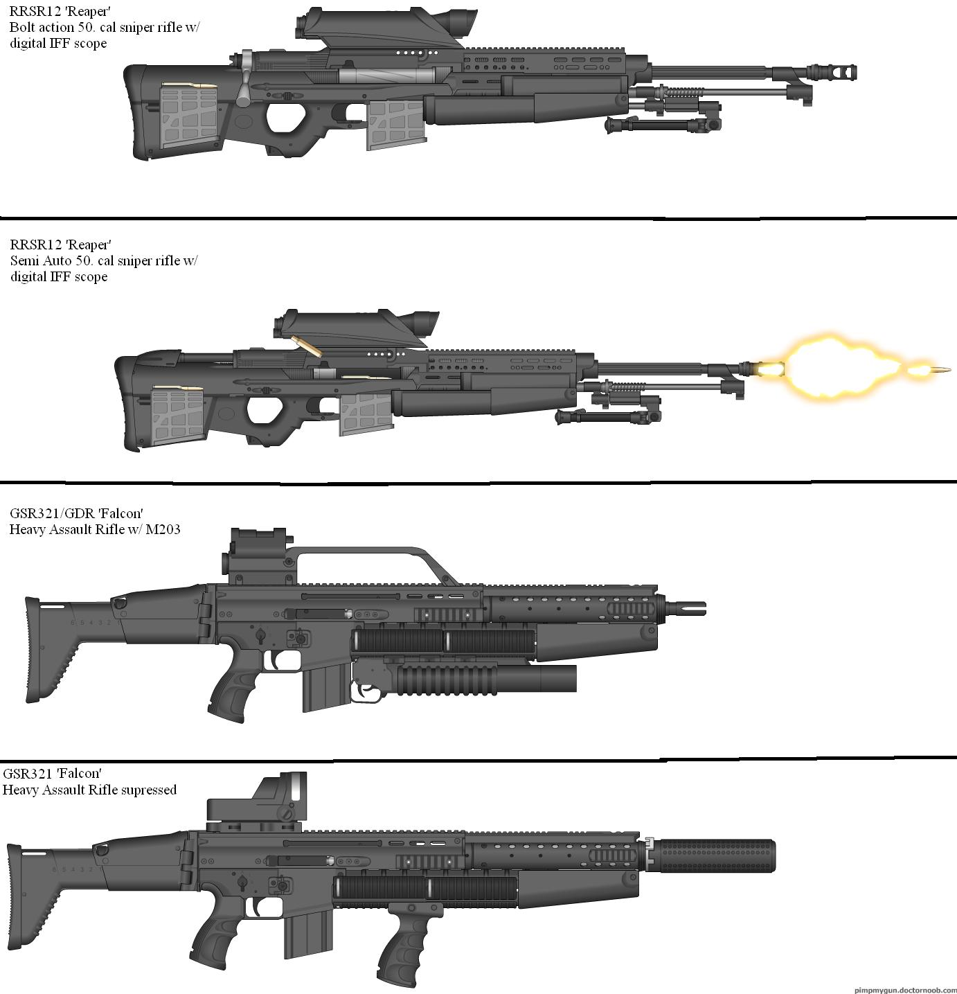 Military Weapon Variants 47 by Marksman104