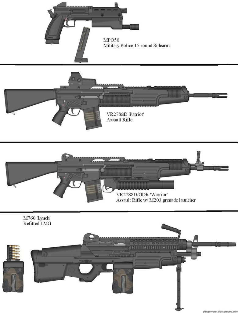Military Weapon Variants 51 by Marksman104