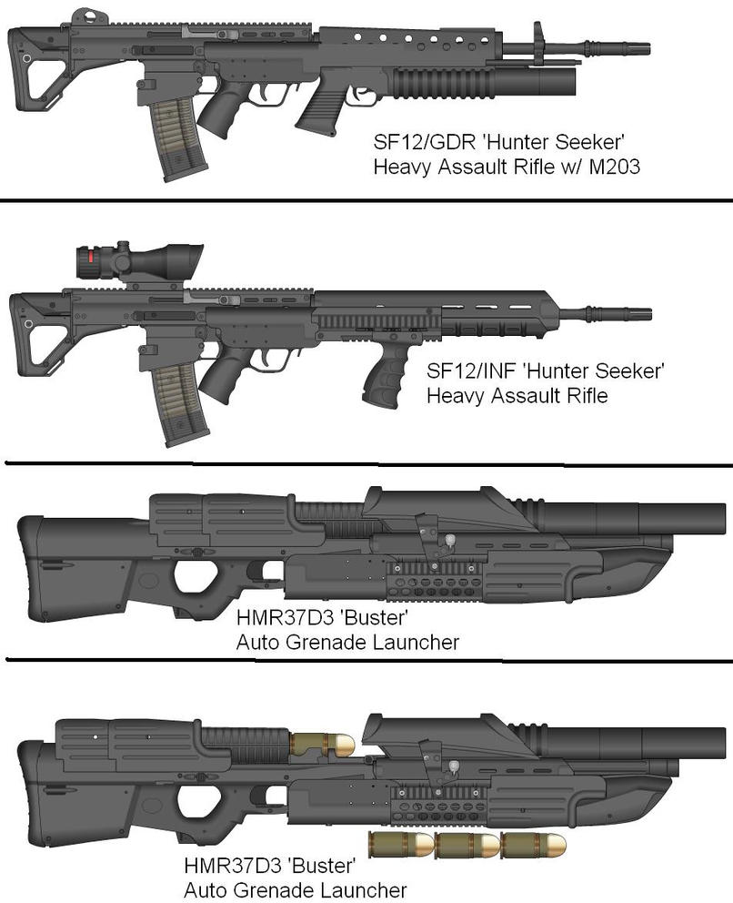 Military Weapon Variants 54 by Marksman104