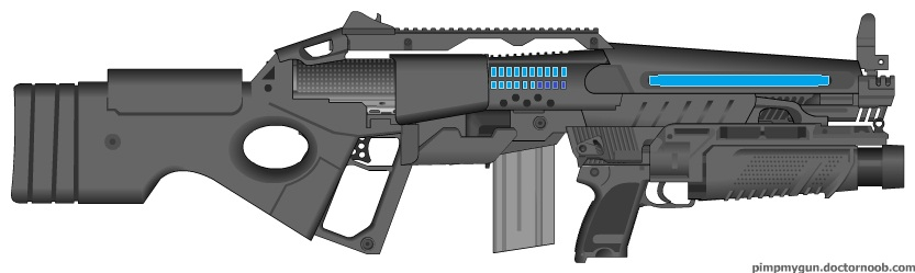 PCM M24X1 Assault Rifle by Marksman104