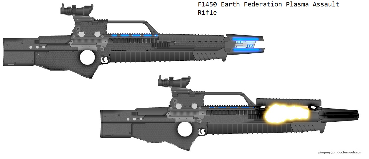 F1450 Human Plasma Rifle by Marksman104