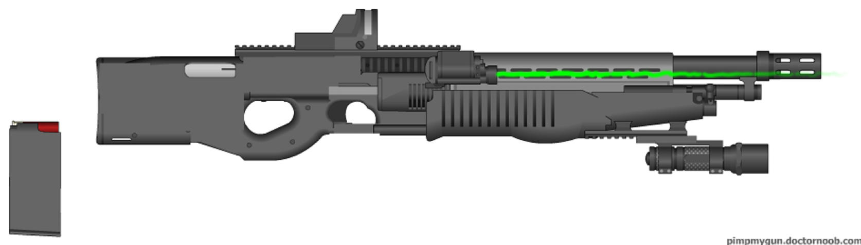 S70G Advanced Auto Shotgun by Marksman104