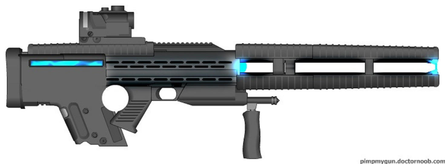 Y47 Antimatter Beam Rifle by Marksman104