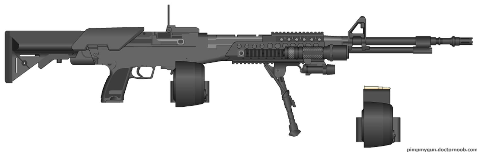 G98C Light Machine Gun by Marksman104