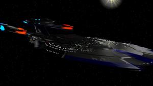 USS Trenalk NCC-1801-E-2  Soverlyn Refit by Marksman104