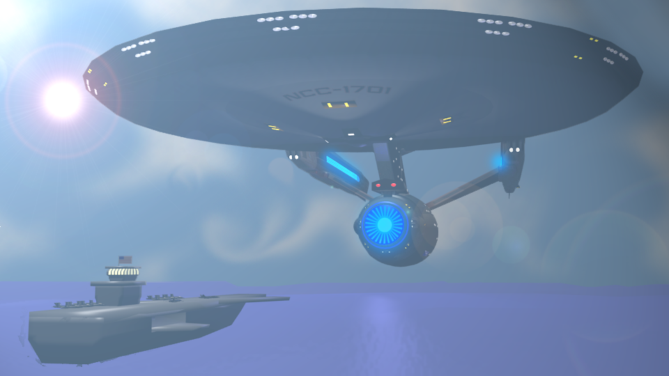 USS Enterprise vs USS Enterprise by Marksman104