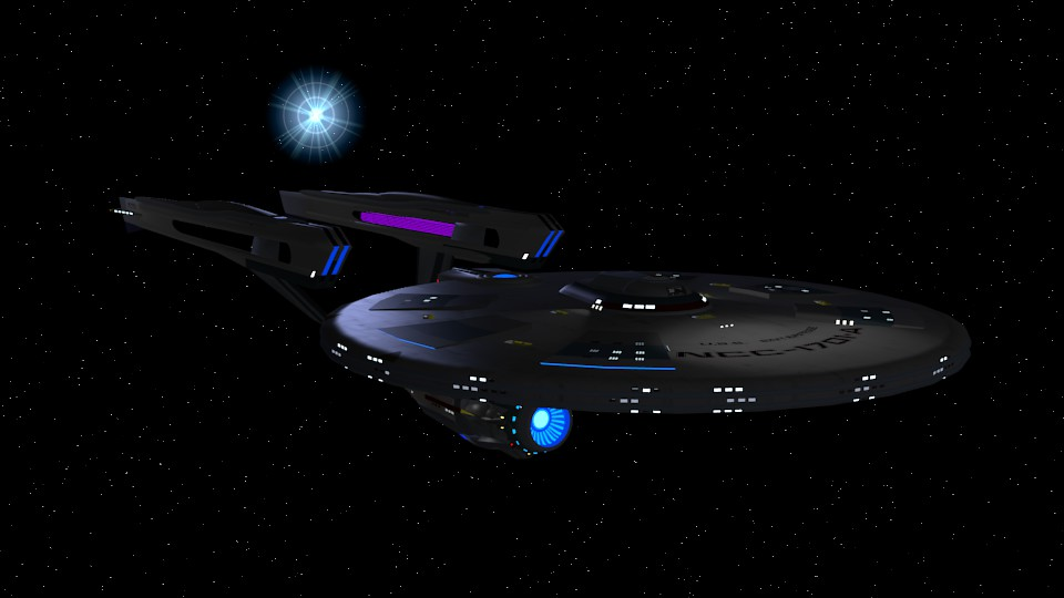 Alternate Reality USS Enterprise NCC-1701-A by Marksman104