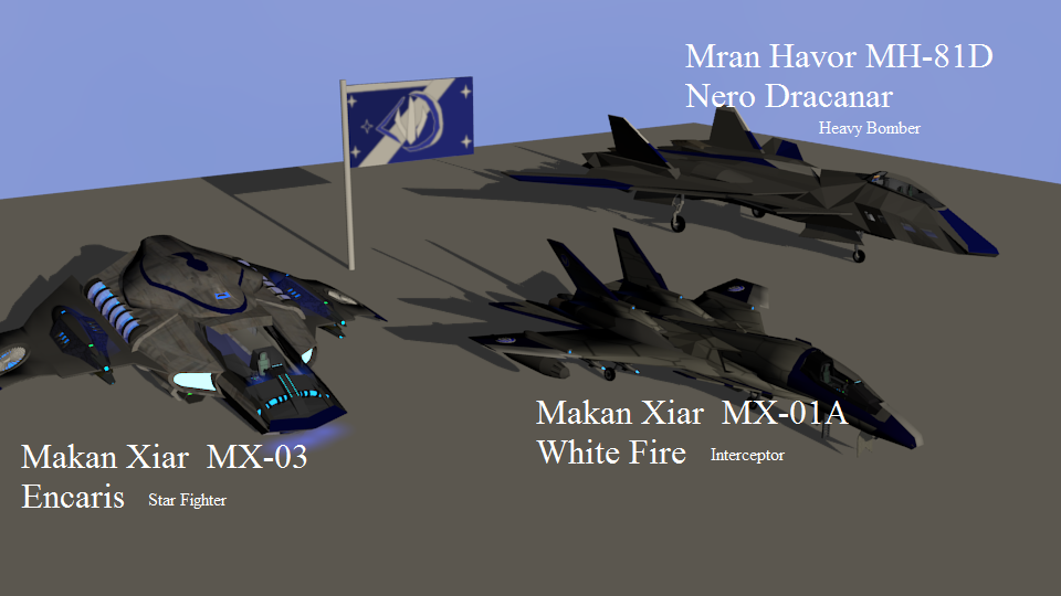 Aircraft pack 4 -United Maldorian Federation by Marksman104
