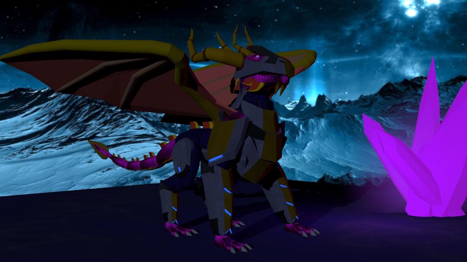 Spyro armor redesign by Marksman104