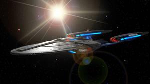 USS Enterprise NCC-1701-G Nightwolf Class Refit