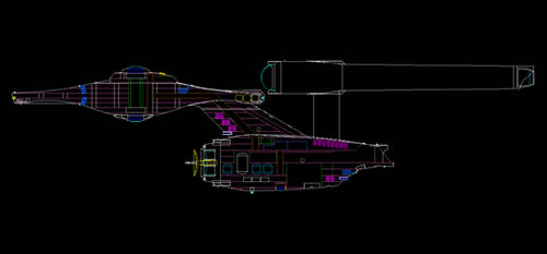 Not JJ's Enterprise - MSD -- WIP by NewDivide1701