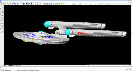 Somewhat TOS Shepard class - WIP
