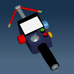Psychokinetic Energy Meter - 3DS, OBJ, DWG and DXF