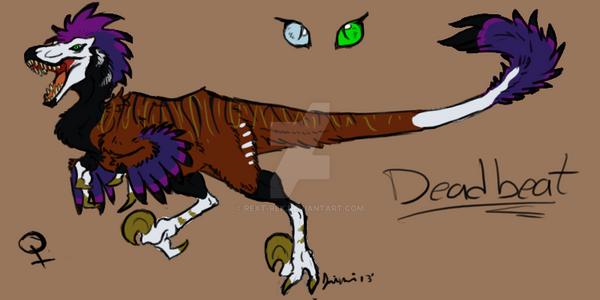 Deadbeat adult ref by RexT-Rex