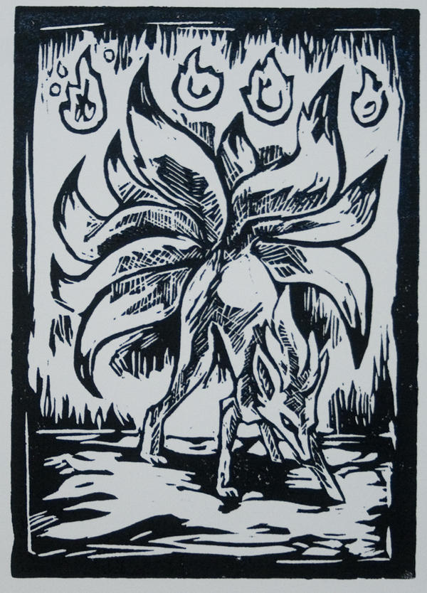 Ninetails Print by Puppy-Chow