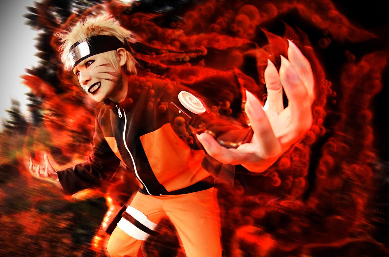 Kyubi Naruto by lanmeimeia
