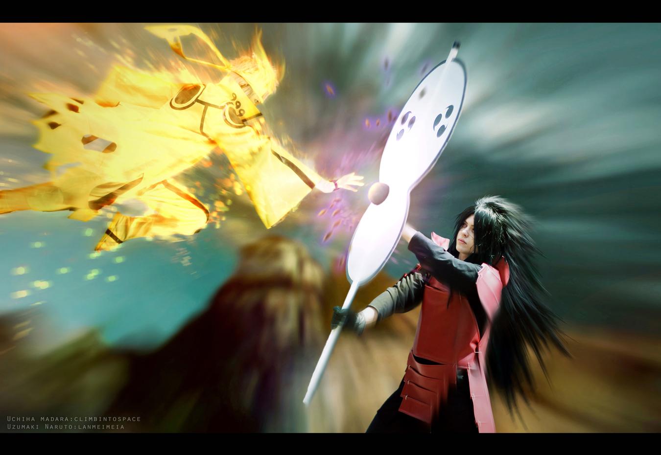 Naruto vs Madara by lanmeimeia