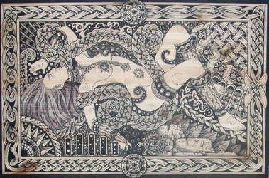 Knots slave by ZawArt