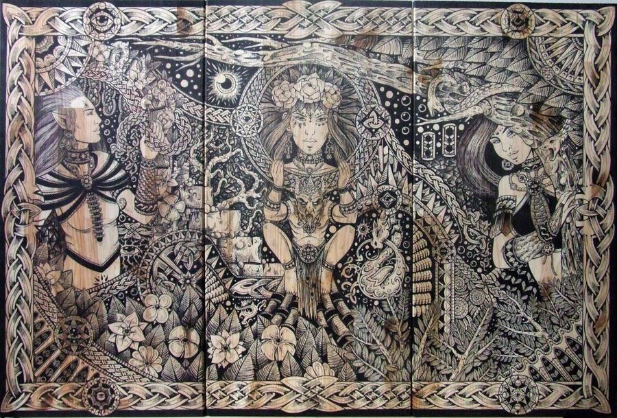 Triptych by ZawArt