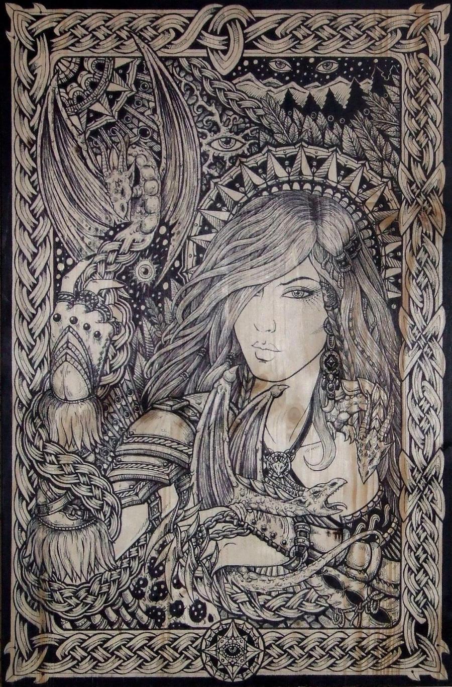 Khaleesi by ZawArt