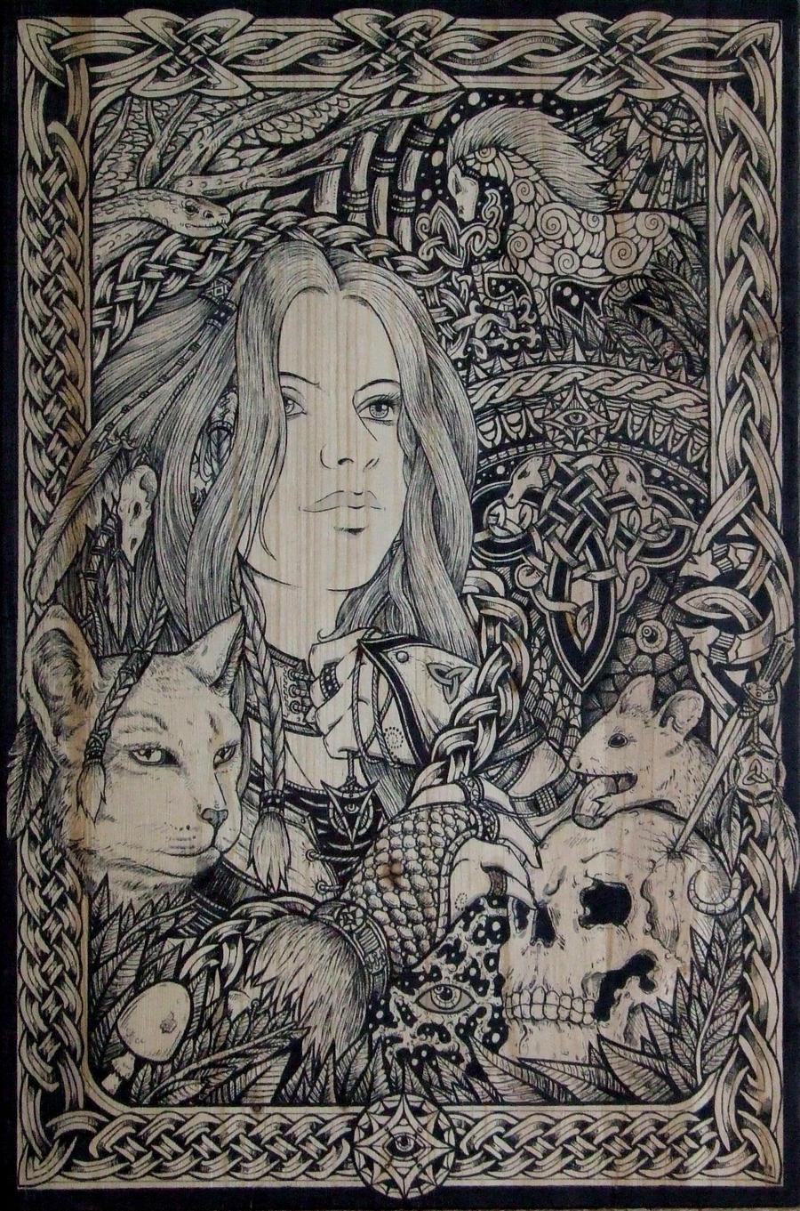 Monika The Witch by ZawArt