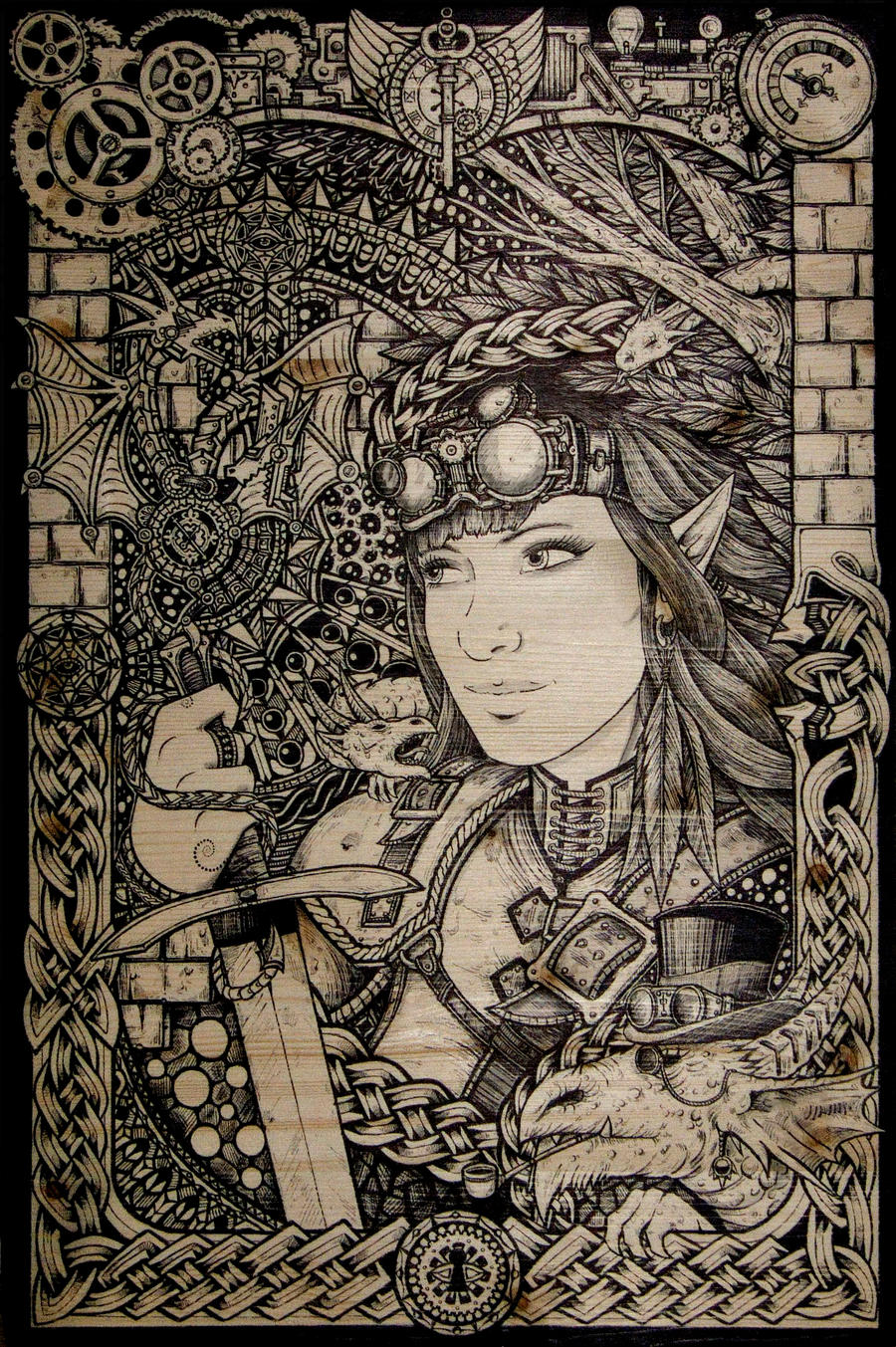 Klaudia by ZawArt