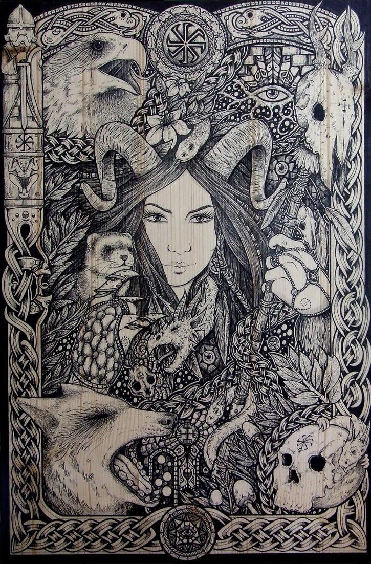 Paulina by ZawArt