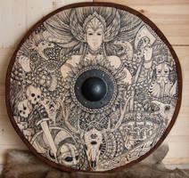 Viking Shield Valkyrie