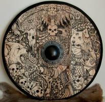 Wolf Priestess Shield