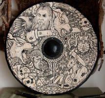 Shield Odin by ZawArt