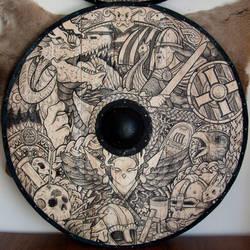 Viking shield by ZawArt