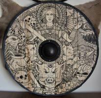 Freya shield by ZawArt