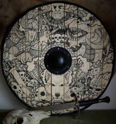 Dragon valkyrie shield by ZawArt