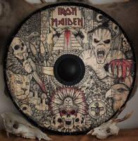 Iron Maiden viking shield by ZawArt
