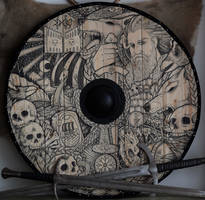 Viking shield Odin by ZawArt