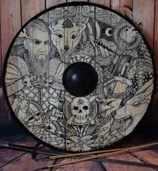 Odin shield by ZawArt