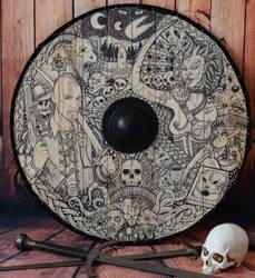 Warhammer shield by ZawArt