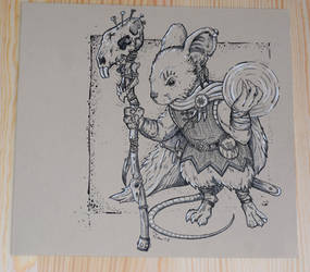 Mouse Aprientece by ZawArt