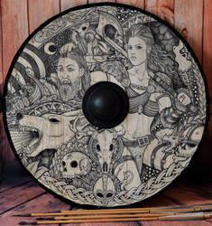 The Bride Shield by ZawArt