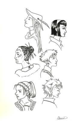 DD Female characters