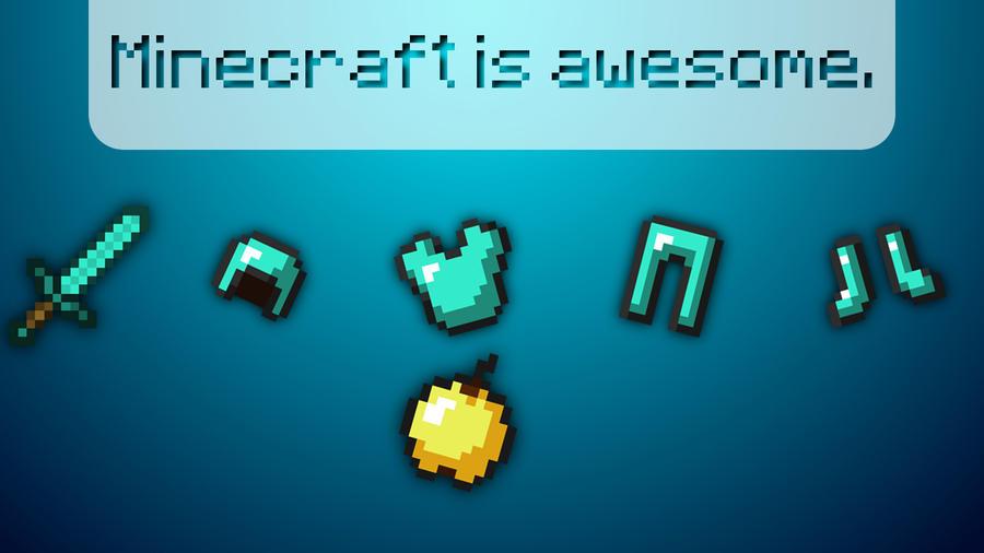 Minecraft Wallpaper By Zackpro