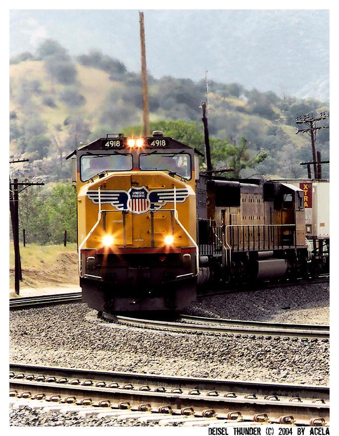 Diesel Thunder by acela