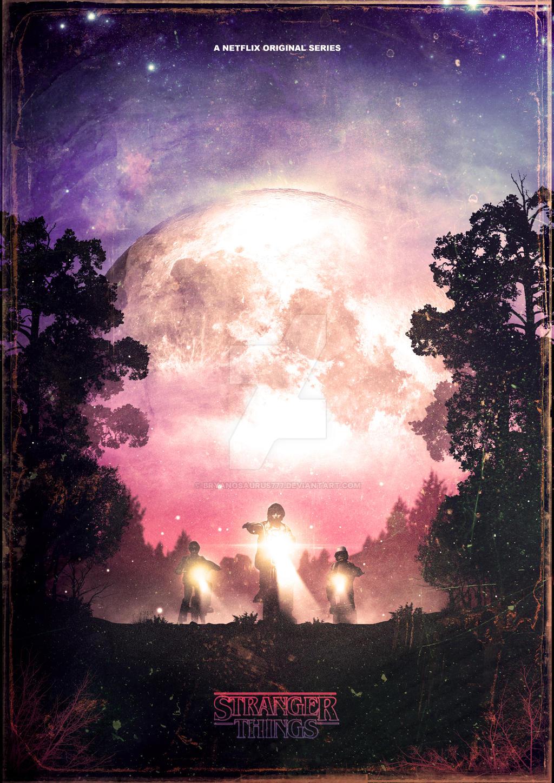 Stranger Things Poster by Bryanosaurus777