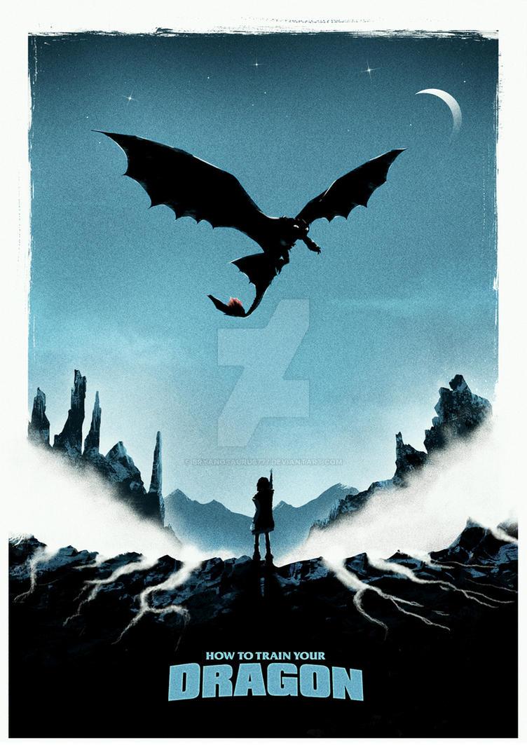 How To Train Your Dragon - AP by Bryanosaurus777