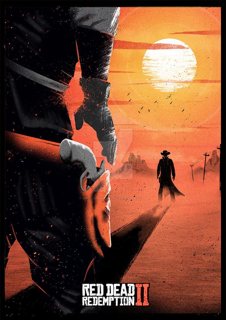 Red Dead Redemption II by Bryanosaurus777