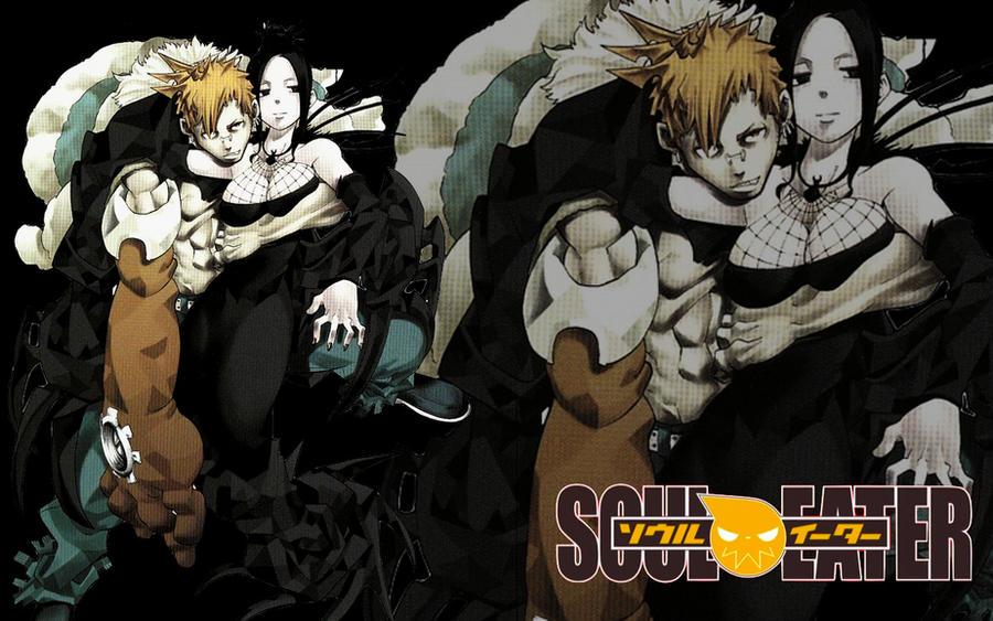 Soul Eater Arachne And Giriko Soul Eater-Giri...