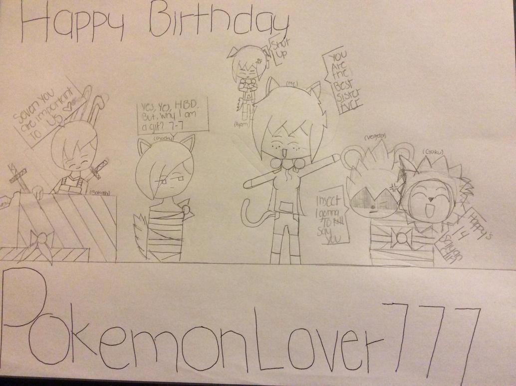 Happy Birthday Sister by TitanSayan