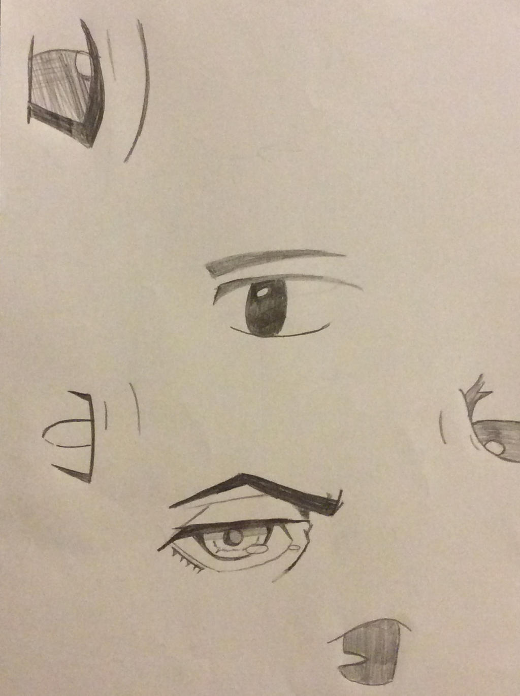 Eyes 1 by TitanSayan