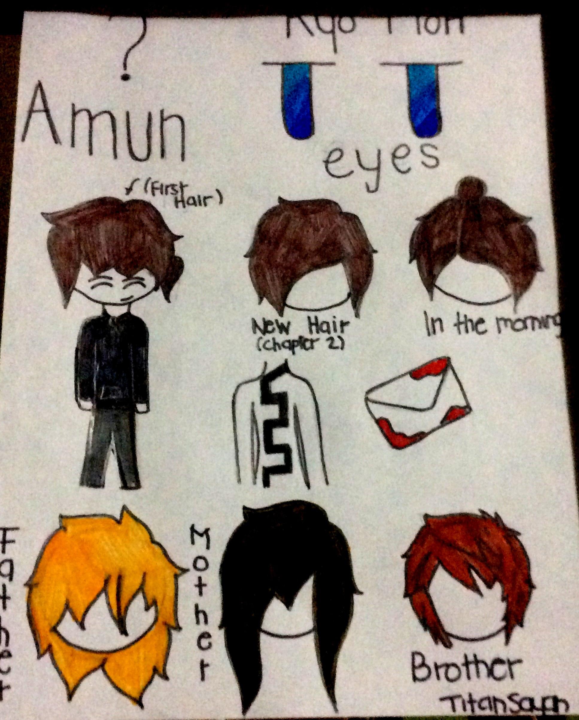 Ryo Mori , Protagonist of Amun (Story in Progress) by TitanSayan